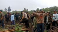 Petugas Bersenjata Lengkap Evakuasi 6 Petani di Pagaralam dari Teror Harimau