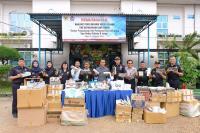Rutin Gelar Operasi, Bea Cukai Jambi Sita Jutaan Batang Rokok Ilegal