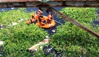 BPBD Cirebon Angkut 5 Ton Sampah & Eceng Gondok dari Sungai Cipager