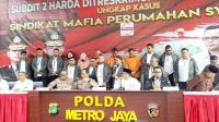 Polda Metro Bongkar Proyek Perumahan Fiktif, 3.680 Orang Jadi Korban