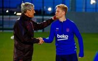 Setien Senang Komunikasinya dengan Pemain Barcelona Berjalan Baik