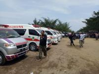 Pemkot Depok Kerahkan 15 Ambulans Jemput Korban Kecelakaan Bus Purnamasari di Subang