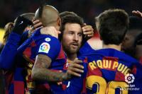 Messi Jadi Pahlawan Kemenangan Barcelona atas Granada