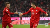 Bantai Schalke 5-0, Bayern Dekati Puncak Klasemen Liga Jerman 2019-2020