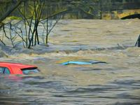 Banjir di Bojonegoro Akibat Hujan Deras dan Air Sungai Pacal Meluap