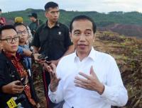 Kunjungi Bandung-Cimahi, Jokowi Resmikan Terowongan Nanjung