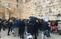 Ratusan Umat Yahudi di Yerusalem Berdoa untuk Korban Virus Korona