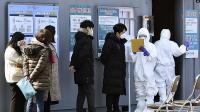 Pasien Virus Korona di Korsel Meningkat Drastis Selama 3 Hari