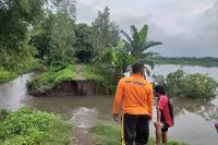Tanggul Sungai Mlese Klaten Jebol, 30 Hektare Sawah Terendam