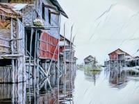 BPBD: Banjir Lombok Timur Menyebabkan Kerusakan Bangunan dan Infrastruktur