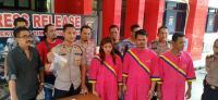 Suami-Istri Siri di Palembang Jebak dan Peras Selingkuhan di Hotel