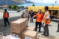 2,3 Ton Alat Kesehatan untuk Penanganan Covid-19 Tiba di Papua