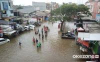 Diguyur Hujan Deras, 6 Kecamatan Kabupaten Bandung Terendam Banjir