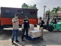 Atasi Dampak COVID-19, Kemensos Salurkan 6.700 Paket Sembako