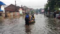 Puluhan Jiwa Terdampak Banjir di Kabupaten Bandung