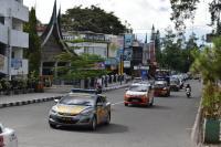 Cegah Corona, Polisi Gelar Sosialisasi Berskala Besar di Bukittinggi