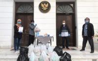 Pandemi Virus Corona, KBRI Kairo Salurkan Bantuan kepada Mahasiswa Indonesia di Mesir