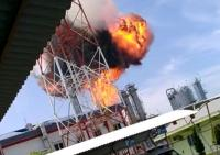 Proyek Gas Pertamina di Blora Terbakar, Api Membumbung Tinggi