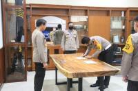 Cegah Korupsi, Dirlantas Polda DIY Tandatangani Pakta Integritas Birokrasi Bersih