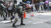 Polisi Tembakkan Peluru Merica, Tangkap 240 Orang dalam Demonstrasi Terbaru Hong Kong