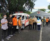 Mobil Laboratorium Covid-19 dari Pemerintah Pusat Disebar ke 5 Titik Kota Surabaya