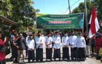 Pasien Sembuh Covid-19 Disambut Bak Tamu Kehormatan di Polewali Mandar