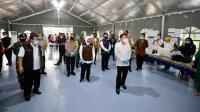 RS Lapangan Covid-19 Jatim yang Baru Diresmikan Mampu Tampung 571 Pasien