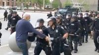 Video Polisi di AS Dorong Pria 75 Tahun hingga Jatuh, Kepala Korban Bocor