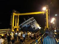Puluhan Kendaraan di KMP Darma Rucitra III Masih Terjebak