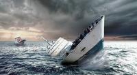 Air Sudah Penuhi Anjungan KM Dharma Rucitra III di Pelabuhan Padangbai