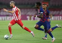 Barcelona vs Atletico Madrid, Carrasco Tak Puas dengan Skor 2-2