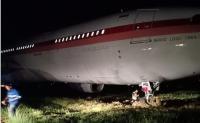 Pesawat Garuda Tergelincir di Bandara Sultan Hasanuddin Makassar