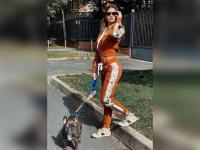 Gaya Sporty Melissa Satta, Perempuan yang Bikin Boateng Jatuh Hati