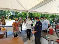 Setelah Jokowi, Giliran Menkes Terawan Kunjungi Jatim Bahas Penanganan Covid-19