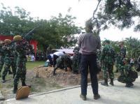 Isak Tangis Warnai Pemakaman Pelda Anumerta Rama Wahyudi