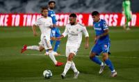 Madrid vs Getafe, Los Blancos Masih Tertahan di Babak Pertama
