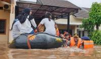 Sungai Bone Meluap, Permukiman di 5 Kelurahan Terendam Banjir 2 Meter