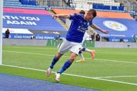 Jamie Vardy Makin Mantap Puncaki Klasemen Top Skor Liga Inggris 2019-2020