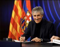 Kelar Laga Villarreal vs Barcelona, Bartomeu Umumkan Masa Depan Setien