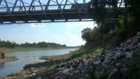 Sungai Bengawan Solo Dipenuhi Sampah Popok, Warga Mengeluh Bau