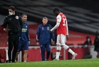 Nketiah Kena Kartu Merah di Laga Arsenal vs Leicester, Rodgers: Itu Sangat Layak
