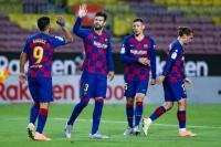 Setien Enggan Pikirkan Jarak Poin Barcelona dengan Real Madrid