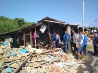 24 Tahun Jadi Lokalisasi, Puluhan Warung Dibongkar Polisi