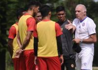 Arema FC Gelar Latihan Tertutup, Suporter Dilarang Datang