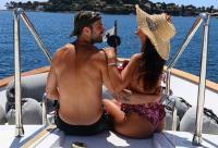 Istri Fabregas, Daniella Semaan Bagikan Momen Berlibur di Instagram
