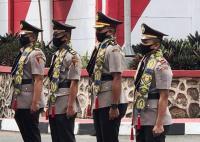 Perwira Polisi Diminta Bekerja Ekstra saat Pandemi Covid-19