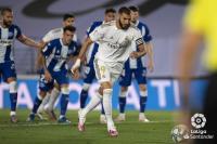 Madrid vs Alaves, Penalti Benzema Bawa Los Blancos Unggul 1-0 pada Babak Pertama