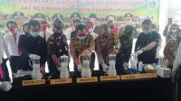 Polisi Musnahkan Sabu Senilai Rp1,2 Miliar