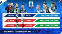 Live Streaming Pekan Ke-33 Liga Italia 2019-2020 Dapat Disaksikan di RCTI