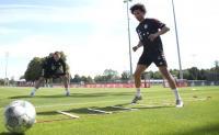 Kesan Sane Usai Ikuti Latihan Perdana Bersama Bayern Munich